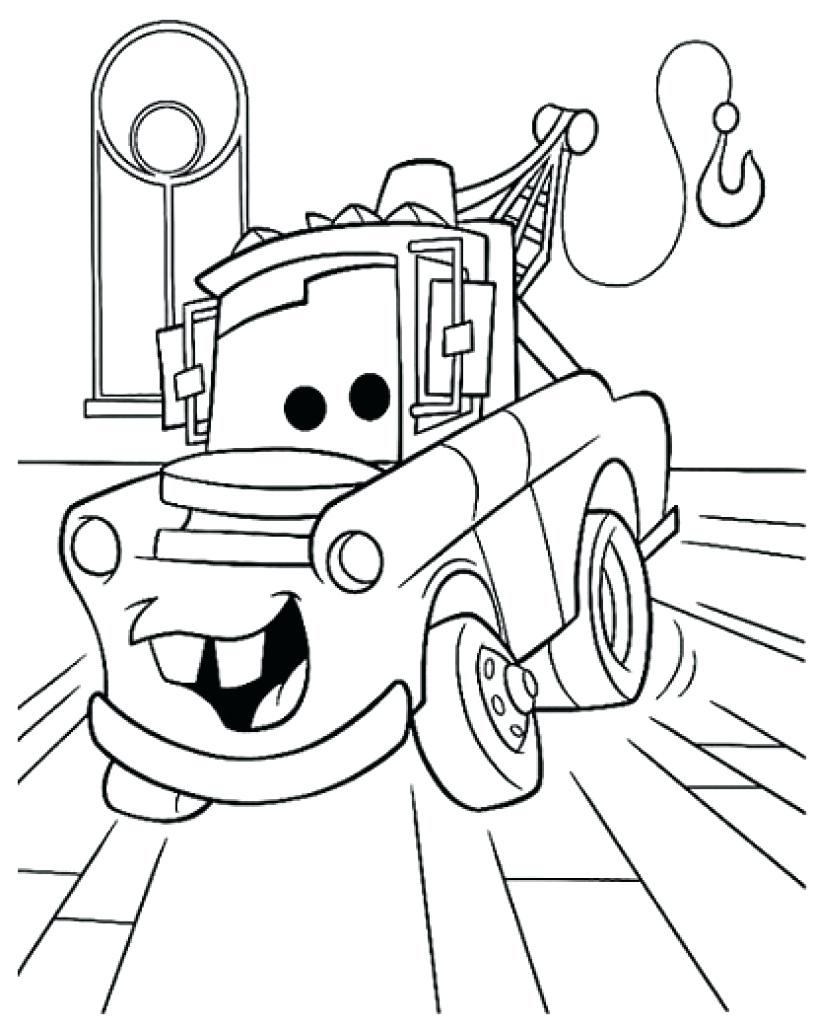 816x1024 Tow Mater Coloring Pages Fototo Mater Coloring Pages Crayola Photo