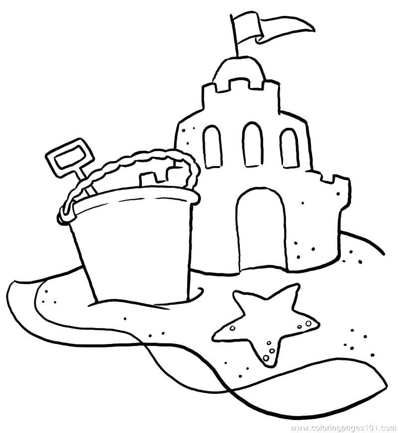800x871 Beach Coloring Page Coloring Page Beach Beach Color Pages Free