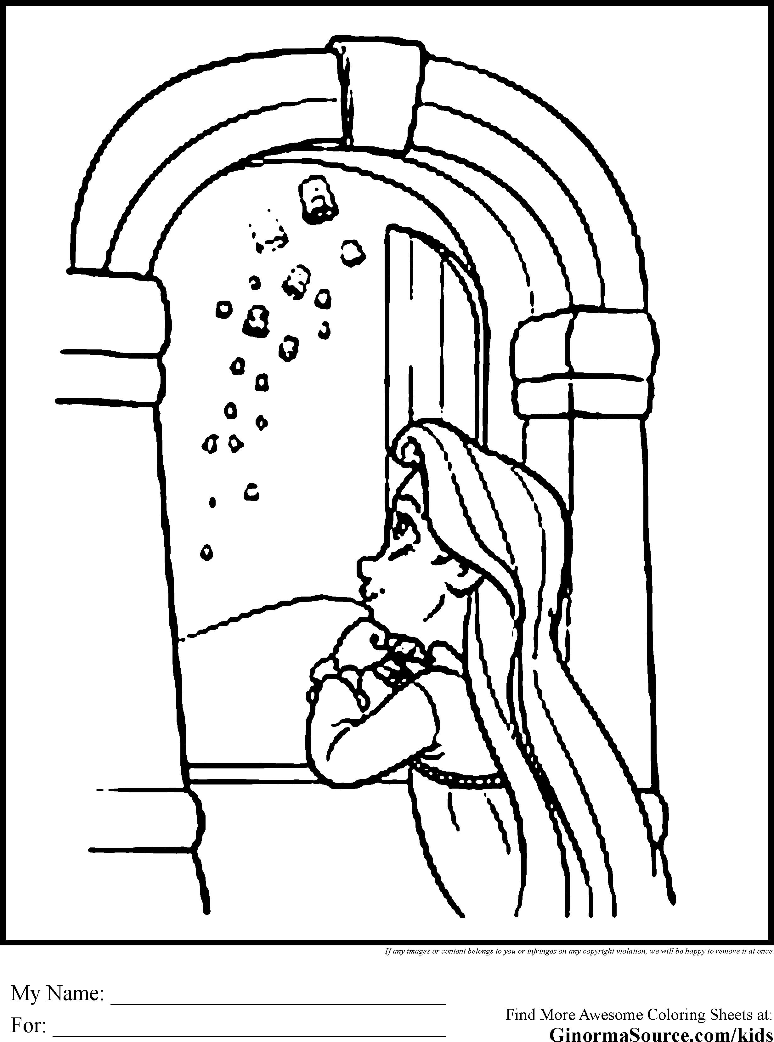 2459x3310 Awesome Rapunzel In Tower Window Coloring Pages Collection Great