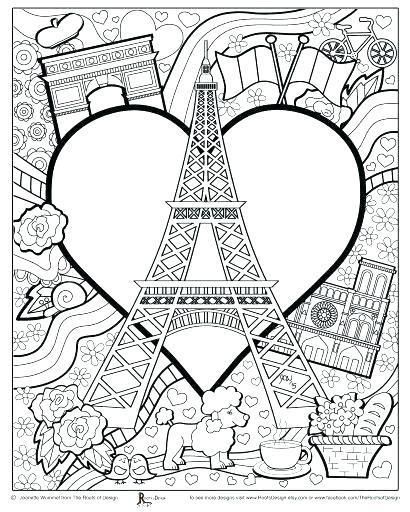 410x512 Printable Tower Coloring Pages For Kids Tower Coloring Page
