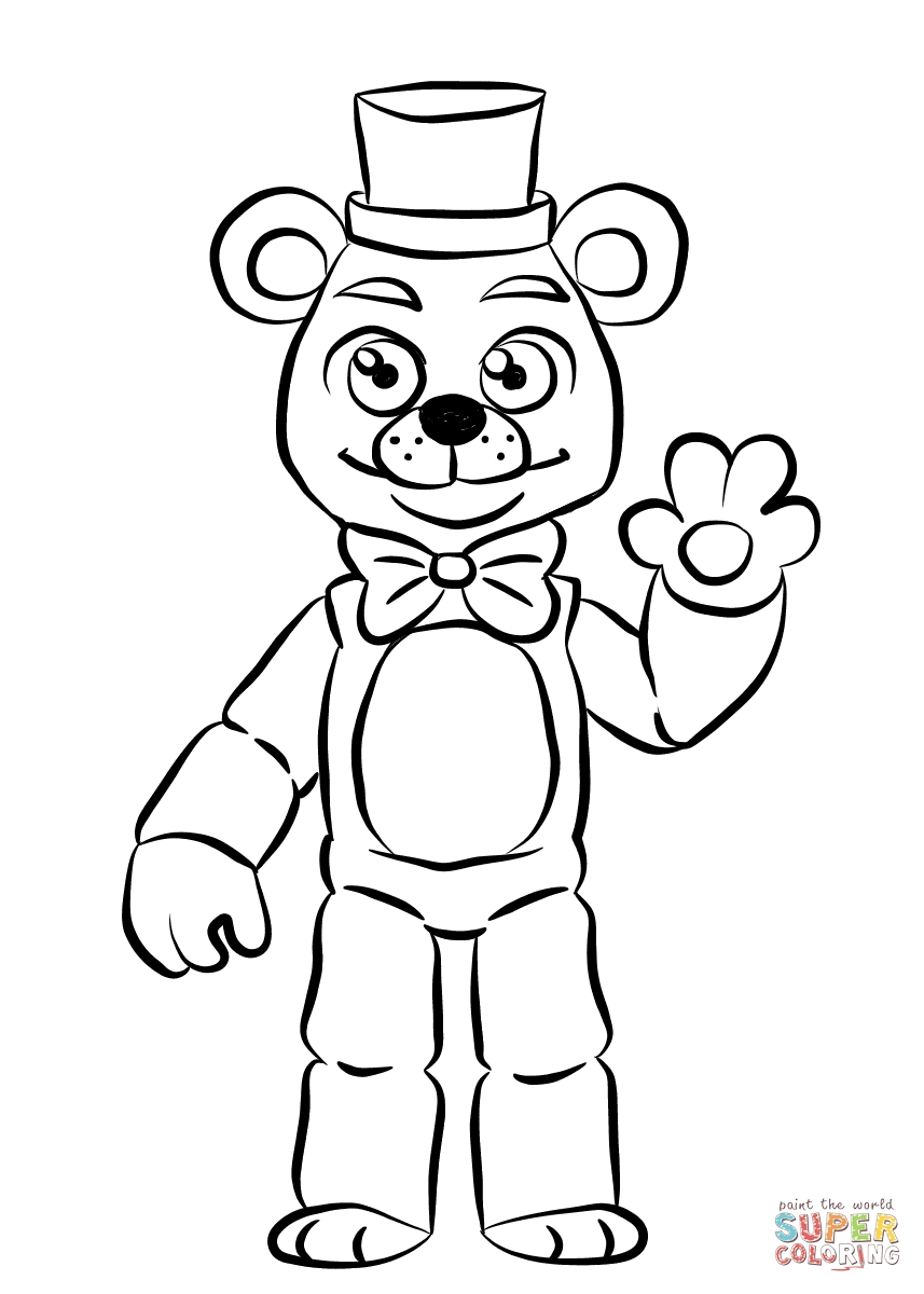 Toy Bonnie Coloring Page