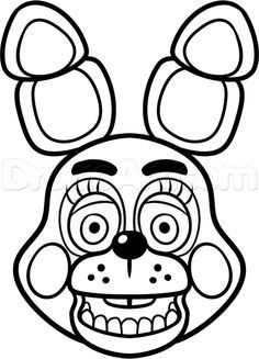 236x327 How To Draw Toy Bonnie From Five Nights
