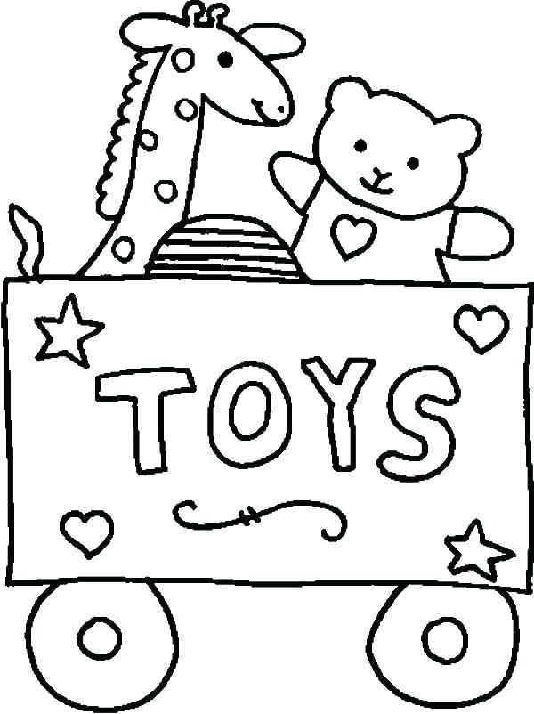 600x802 Toy Coloring Pages Coloring Pages Of Toys Toy Coloring Pages Toy