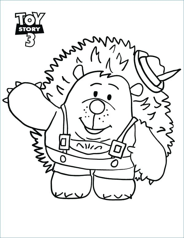 600x776 Toy Coloring Pages Toy Coloring Page Toy Bonnie Coloring Pages