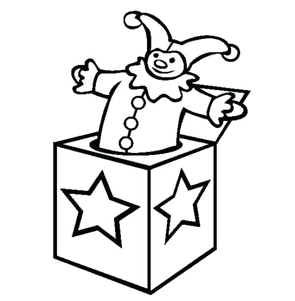 Toy Box Coloring Page At Getdrawings Com