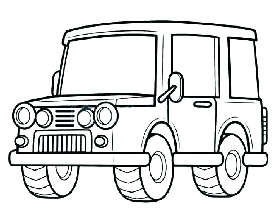 936x761 Jeep Coloring Page Coloring Pages Black And White Jeep Car