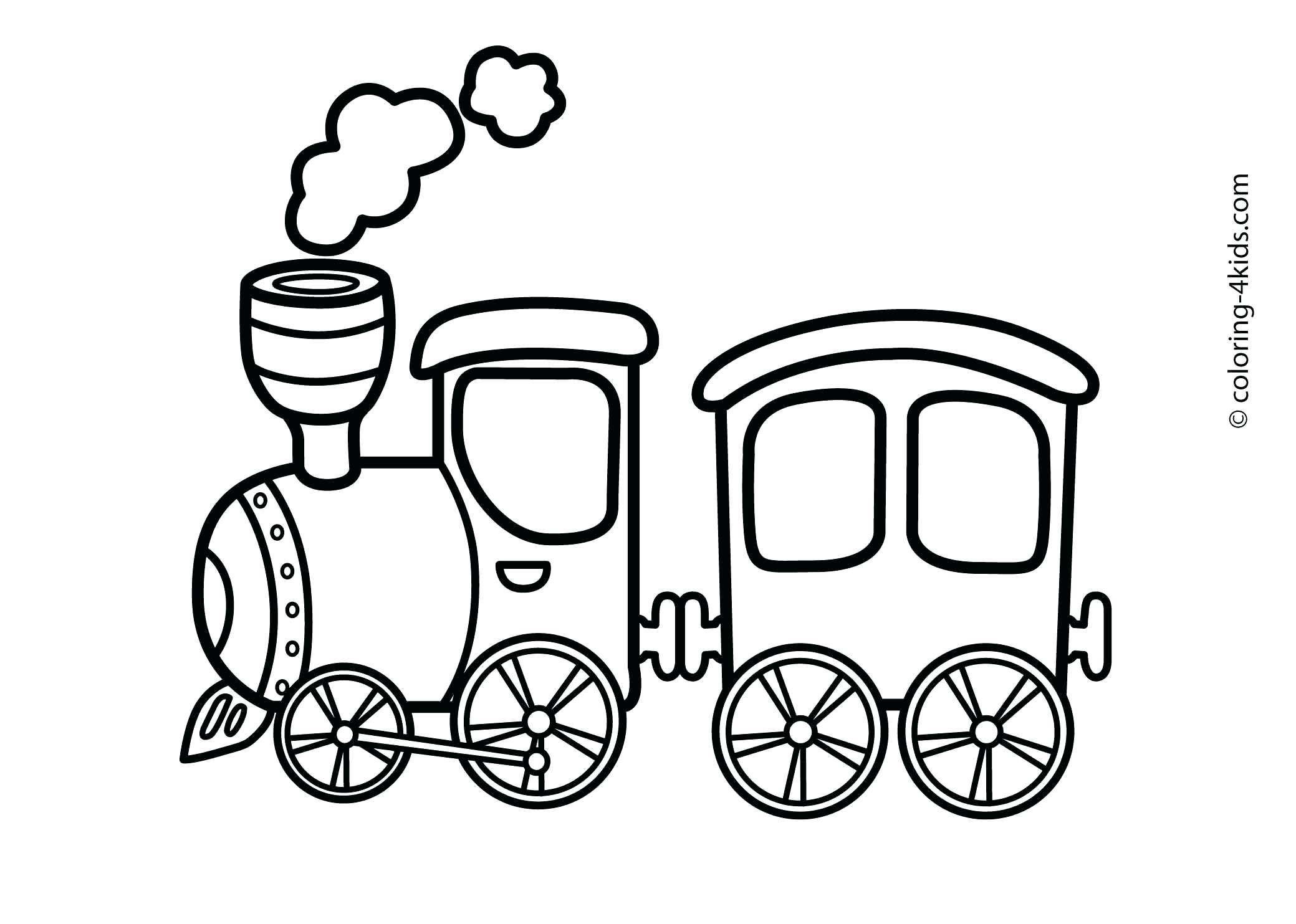 2079x1483 Latest Train Car Coloring Pages To Print Toy That Was Speeding