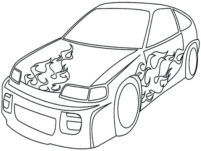 800x600 Race Car Coloring Pages With Simple Car Coloring Pages Cool Race