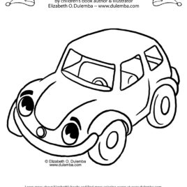 268x268 Toy Car Coloring Page Az Coloring Pages Coloring Page Toy Car