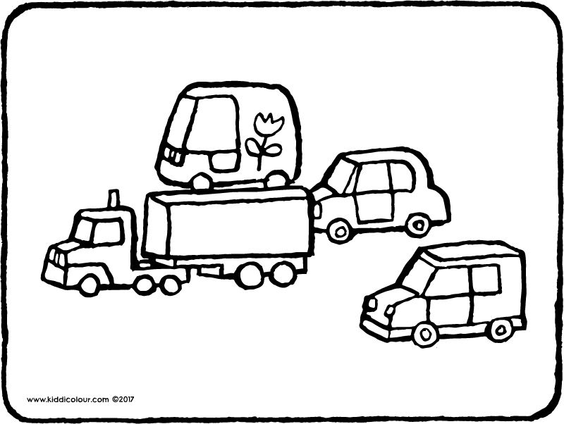 800x602 Car Colouring Pages