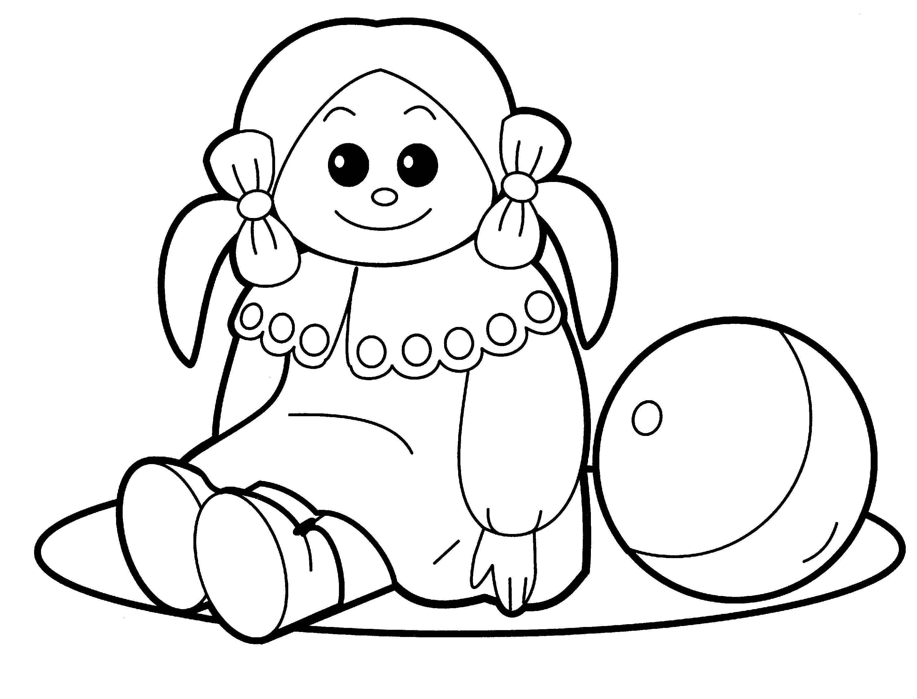 2930x2232 Christmas Toys Coloring Pages