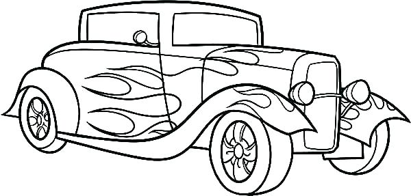 Toy Car Coloring Page at GetDrawings | Free download