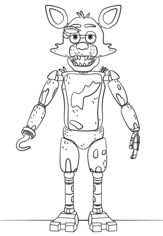 The Best Free Foxy Coloring Page Images Download From 182 Free