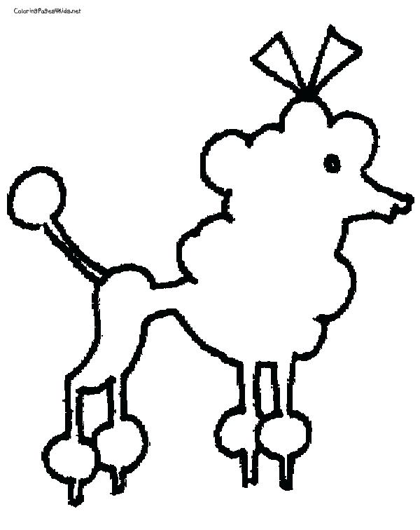 600x756 Poodle Coloring Pages Inspirational Toy Poodle Coloring Page