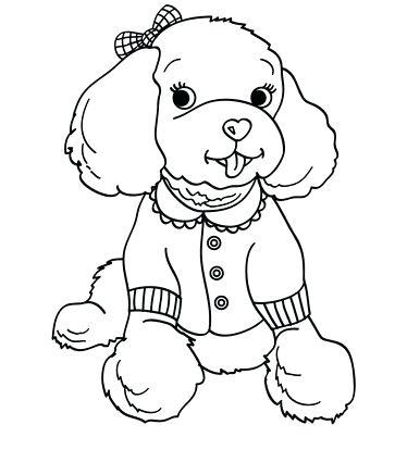 363x425 Poodle Coloring Pages Poodle Coloring Pages Ideas X Pink Poodle