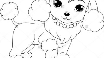355x200 Newfoundland Dogs Coloring Pages Collection Coloring For Kids