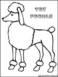 228x300 Poodle Coloring Book