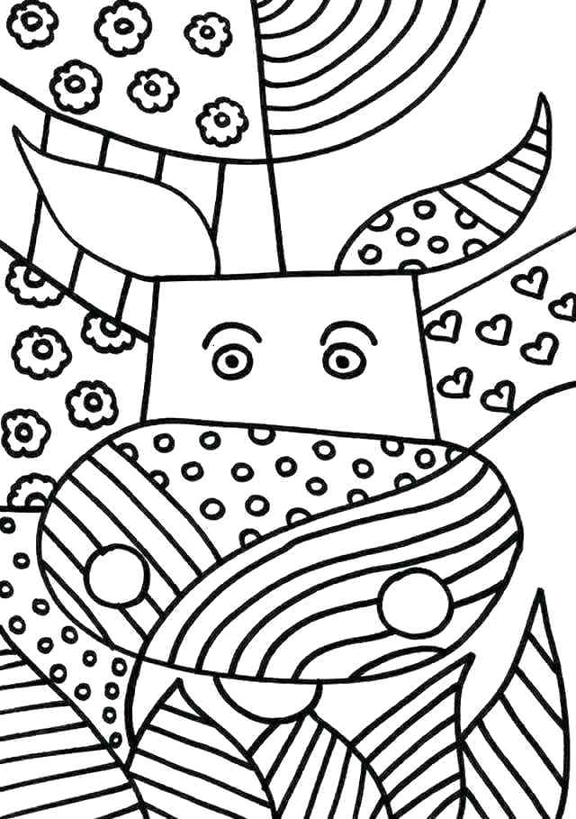 640x909 Fancy Store Coloring Page Images