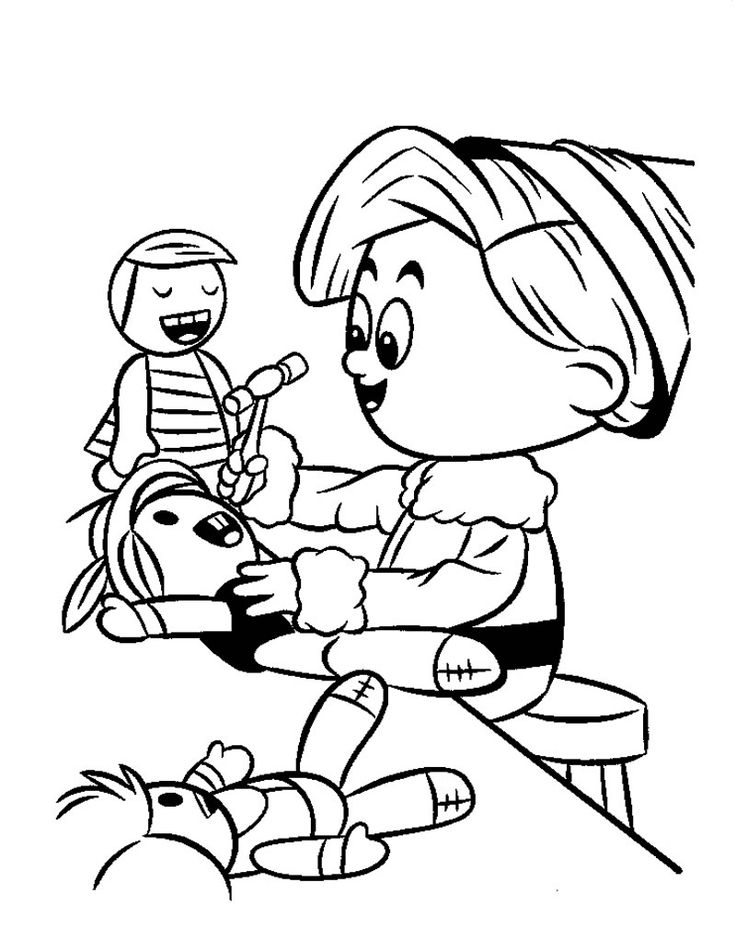 736x951 Best Christmas Coloring Pages Images On Christmas