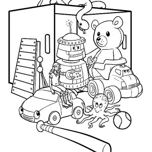 300x300 Toys Store Coloring Pages Best Place To Color