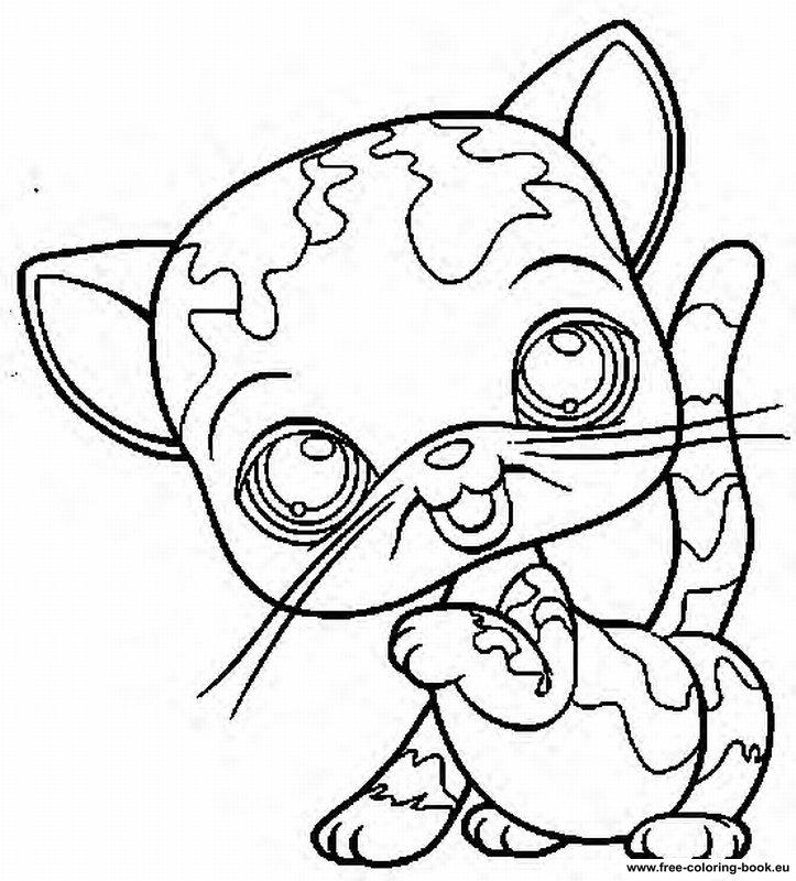 723x800 My Little Pets Shop Colouring Pages Art Coloring Pages