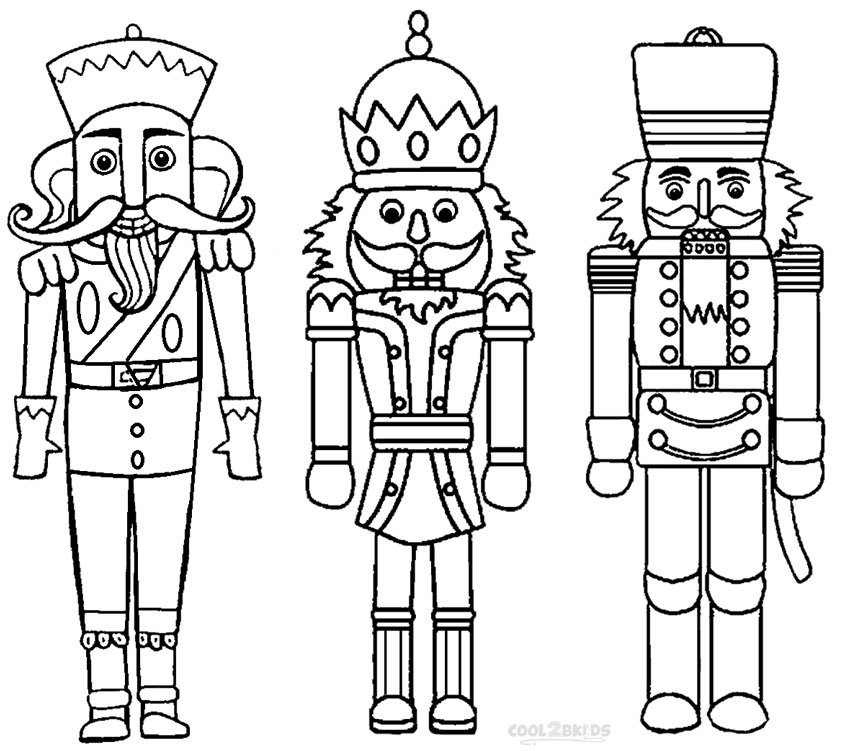850x751 Printable Nutcracker Coloring Pages For Kids