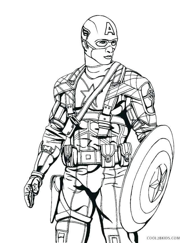 667x850 Soldier Coloring Pages To Print Toy Soldier Coloring Pages