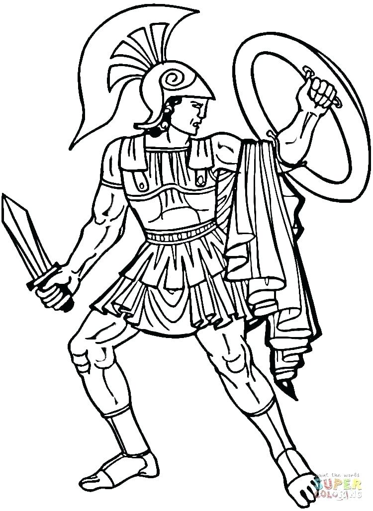 750x1028 Soldier Coloring Pages
