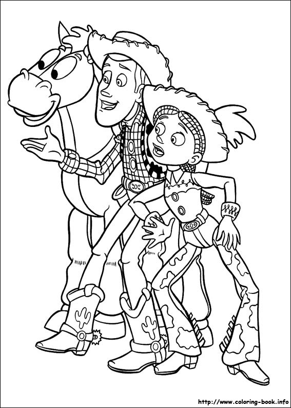 Toy Story 2 Coloring Pages At Getdrawings Free Download