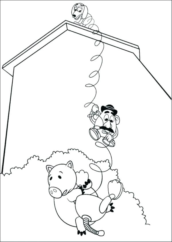 600x841 Stunning Potato Coloring Pages Toy Story Coloring Pages Potato