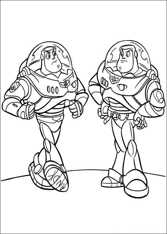 567x794 Toy Story Buzz Coloring Pages