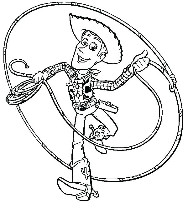 600x650 Woody Coloring Sheet Toy Story Coloring Pages Toy Story Color