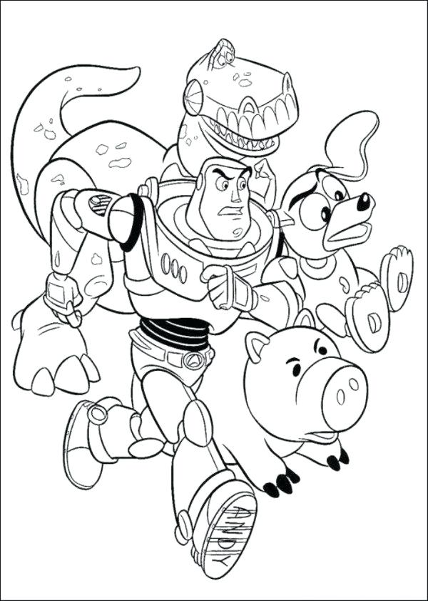 600x841 Zurg Coloring Pages Slinky Dog Toy Story Coloring Pages Boys