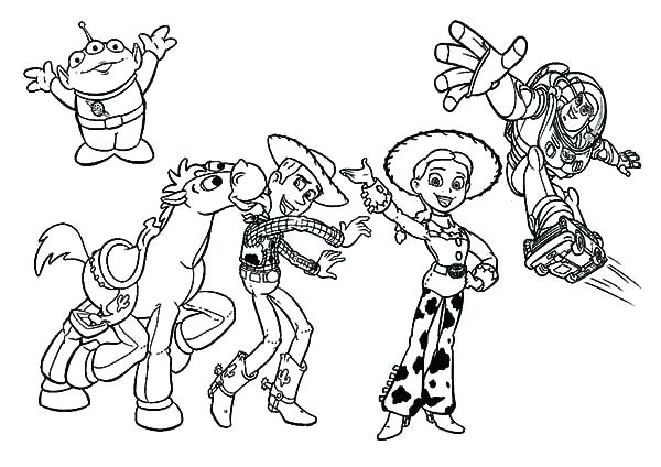 600x424 Mr Potato Head Toy Story Coloring Pages Wesmec Site