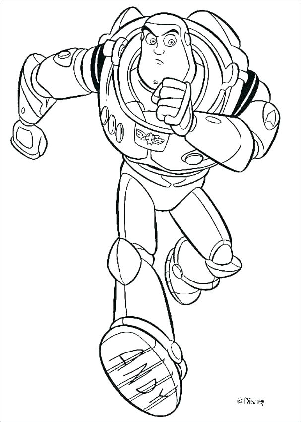 607x850 Buzz Coloring Pages Buzz And Woody Coloring Pages Woody And Buzz