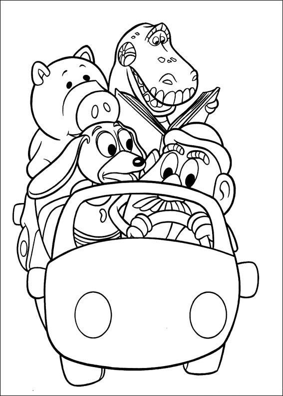 567x794 Toy Story Characters Coloring Pages Free Printable Coloring Pages