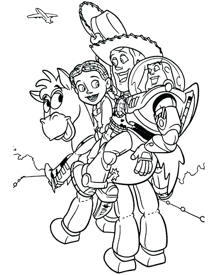 736x904 Jessie Toy Story Coloring Pages Coloring Pages Toy Story Coloring