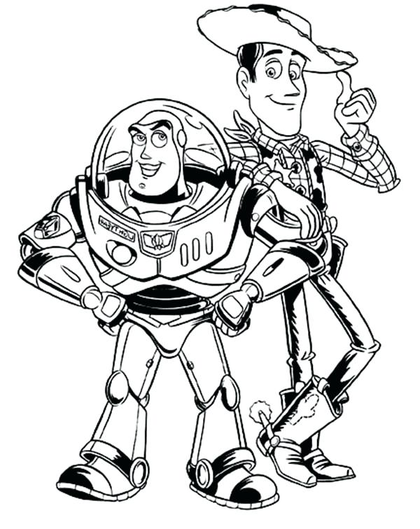 600x756 Toy Story Coloring Pages Toy Story Coloring Pages Medium Size Toy