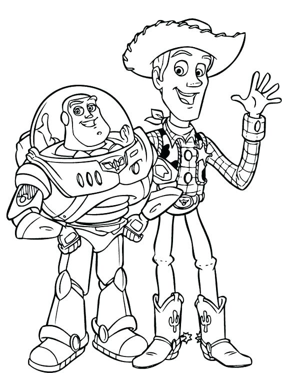 564x744 Woody Toy Story Coloring Pages Woody Toy Story Coloring Page Toy