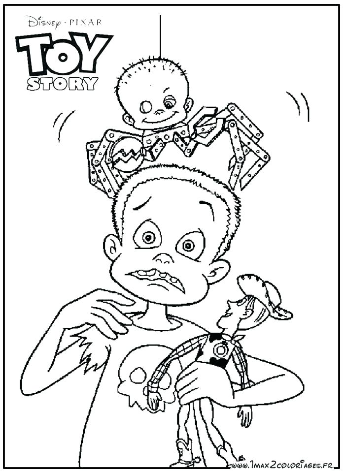 Toy Story Coloring Pages Pdf