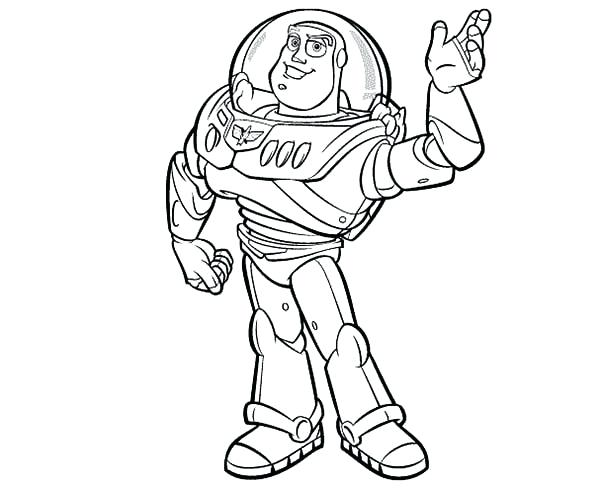 600x491 Toy Story Coloring Pages Print Meet Buzz In Toy Story Coloring