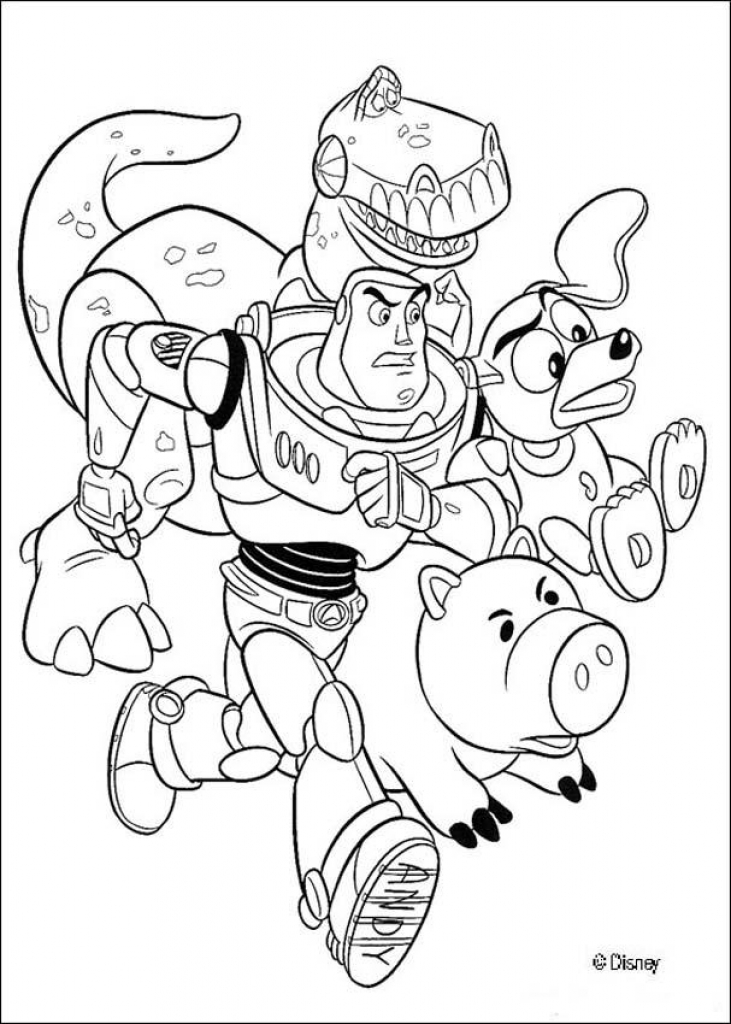 731x1024 Toy Story Printable Coloring Pages Disney Coloring Book