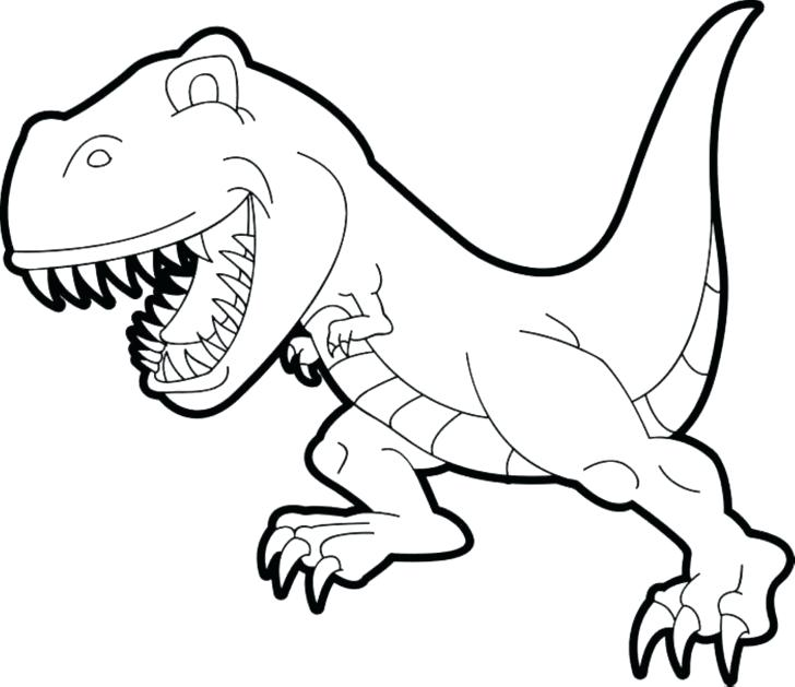 728x629 T Rex Coloring Page Meet The T In Toy Story Coloring Page