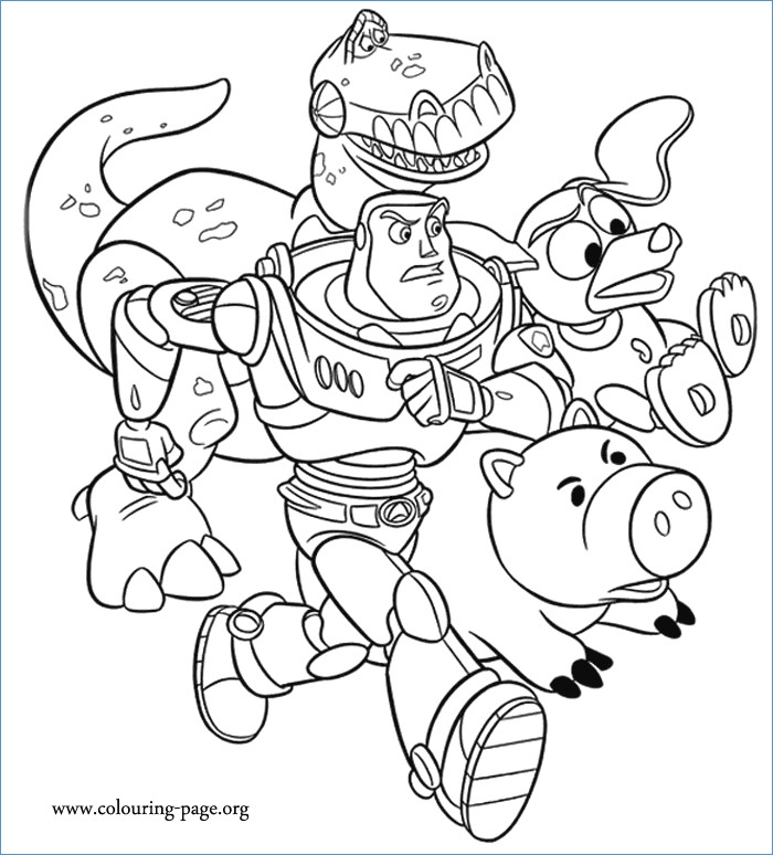 700x774 Toy Story Coloring Page Woody And Bullseye