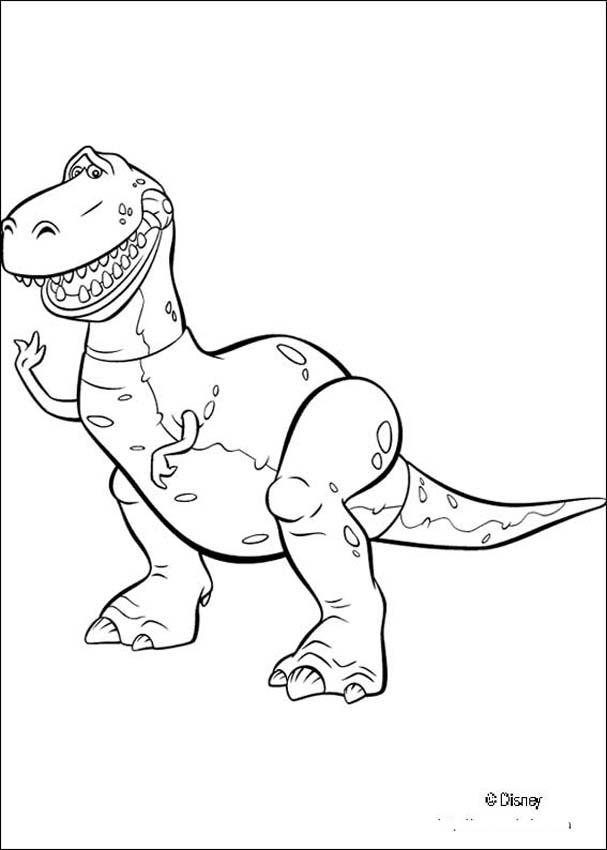 607x850 Toy Story Coloring Pages