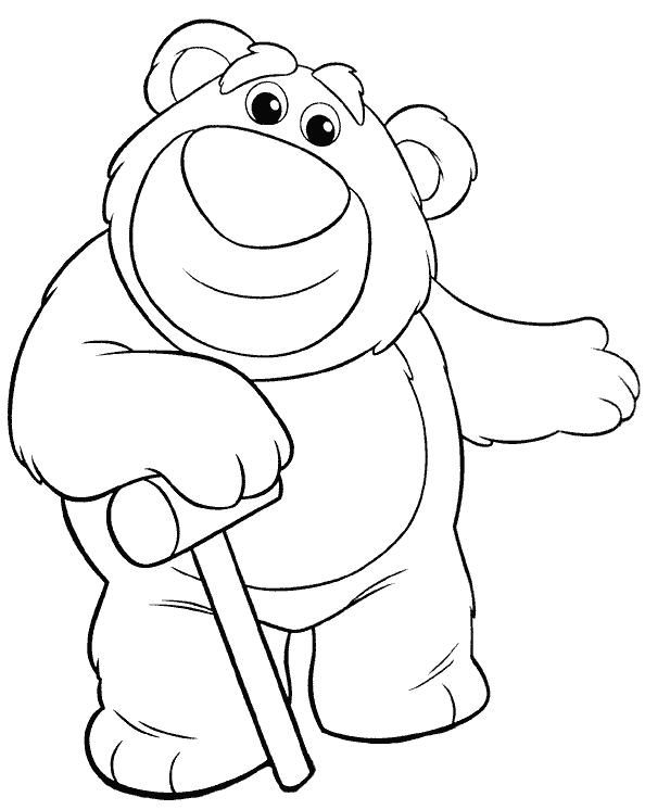 594x746 Toy Story Rex Coloring Pages From The Movie Toy Story Dinozaur Rex