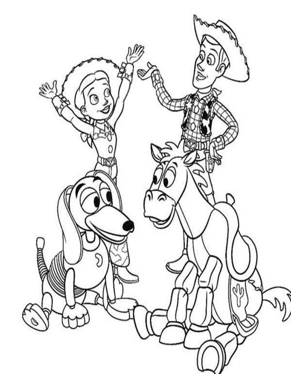 600x770 Toy Story Happy Toy Story Coloring Pages Toy