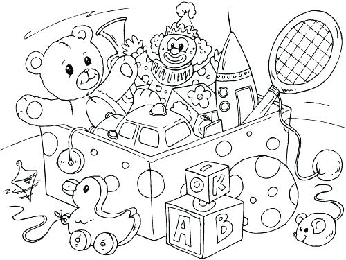500x375 Slinky Dog Toy Story Coloring Pages