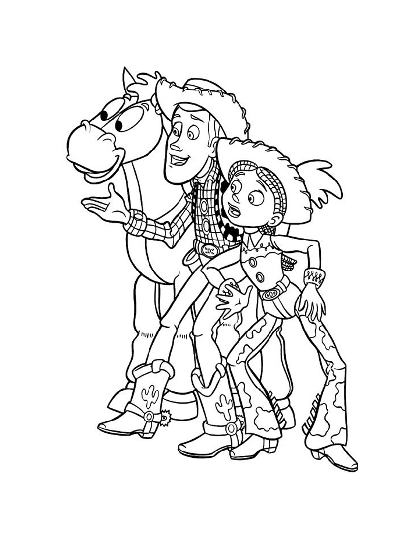 850x1100 Improved Toy Story Coloring Pages Online Free Slinky Dog Kids