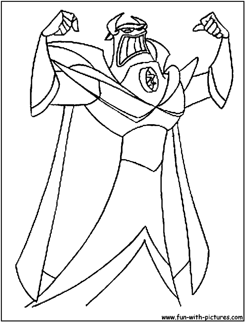 780x1024 Zurg Coloring Page Pages Accidental Shakespeare Inside Buzz